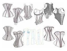 25+ best Corset pattern ideas on Pinterest | Custom corsets, Diy ...