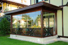 Gazebo, Pergola, Glass Balcony, Glass Room, Front Yard Landscaping, Sunroom, Landscape Design, Coffee Shop, My House