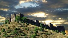 Hidden and little known places: Medieval fortress Maglič, Serbia