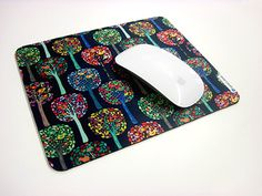 Colorful Mouse Pad. Design by Anny Cecilia Walter. Via patterndesigns.com / fineartprint.de Pad Design, Decorating Your Home, Office Supplies, Presents, Colorful, Patterns, Products, Gifts, Block Prints