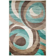 Summit Teal Area Rug