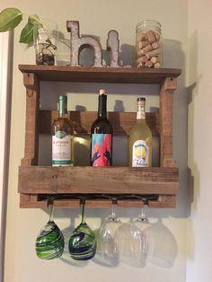 Wine Rack Pallet Wine Rack Rustic Wooden Wall Decor