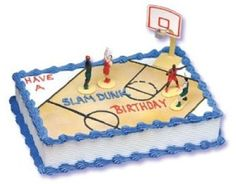 Basketball cake! ive just made it in 10:00min