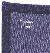 Sew Your Own Cloth Napkins with Mitered Corners: Finished Mitered Corner