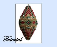 Beaded Ornament Pattern at Sova Enterprises