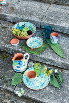 Pfister Tableware Ikat, Dishes, Garden, Outdoor Ideas, Decoration, Fruits