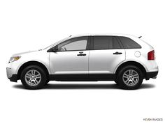 2013 Ford Edge SE SUV # White Suede color, 6-Speed Automatic with Select-Shift transmission