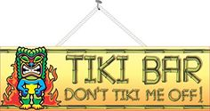 Don't Tiki Me Off Funny Tiki Bar Sign with Tribal Mask, F... http://www.amazon.com/dp/B00N123NYY/ref=cm_sw_r_pi_dp_iL5uxb0FWR41P