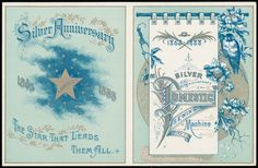 1863-1888 Silver anniversary of the Domestic Sewing Machine Co.