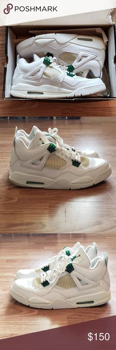 9ad1e472843972 Jordan 4 Retro Classic Green Size 12 (2004) Jordan 4 Retro Classic Green  Size