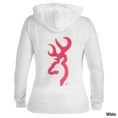 Browning Womens Full-Zip Logo Hoodie - Gander Mountain