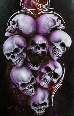 Awesome skulls