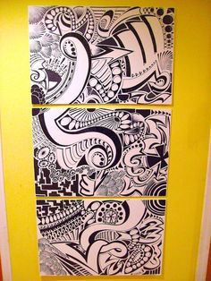 Sharpie art custom art текстуры 및 композиция. Art Nouveau, Copics, Doodle Art, Line Art, Art Drawings, Drawing Art, Drawing Ideas, Illustration, Art Projects