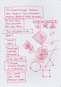 Open Dance Open Dance, Cow House, Bullet Journal