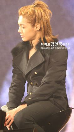 Kim Hyun Joong 김현중 ♡ Kpop ♡ Kdrama ♡ his long hair is perfection❤❤❤