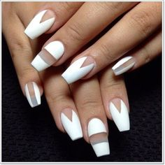 100 Prom Nail Art Designs for Stunning Prom Nails Prom nails are perfect to complete your prom look! Why not experiment this prom night and pick a style that is unique? Check out the gorgeous ideas for prom nail art designs and lots more. White Nail Designs, Nail Art Designs, Nails Design, Hot Nails, Hair And Nails, Gorgeous Nails, Pretty Nails, Amazing Nails, Ballerina Nails Shape