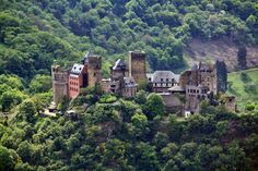 travel the romantic road in germany, and stay in castle schoenburg hotel on the rhine