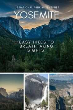 Yosemite is full of breathtaking views, and many of them are easily accessible. You don't have to be an exceptional hiker or backpacker to take in some of the most iconic scenes in the world. #hiking #nature #nationalparks #yosemite