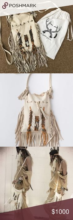 Spell & The Gypsy Collective Bone & Tassel Bag Spell & The Gypsy Collective Bone & Tassel Crossbody Bag in Cream   -brand: Spell & The Gypsy Collective   -Color: cream -worn a few times but inside is very clean   Open to offers!   Spell designs , spell & the gypsy collective , Planet Blue , Lenni the label , Nasty Gal , Asos , Pacsun , Urban Outfitters , Revolve Clothing , Forever 21  , Shop Bop , Free People , LF , vintage , Arnhem , native , boho , bohemian , dreamweaver   (stores for…