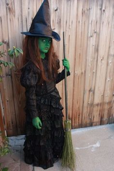 Could I make this for Tate's Halloween costume this year?Halloween Princess as Elphaba