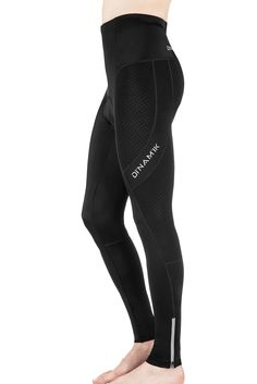97dd7cd9ea Men's Long Bike Pants - Light, Ankle Length Gel Padded Leggings, Cycling Compression  Tights