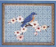 Gail Sirna -Summer:  Bluebird & Dogwood