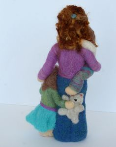 Back View | A custom scultpure, completely needlfelted, comp… | Flickr