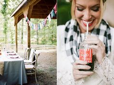 Campfire Wedding Inspiration- we were honored to have our accessories included: infinity scarf, pocket squares, and earrings