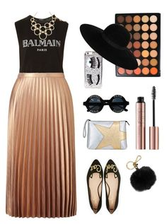 Super cool by lightandjoy on Polyvore featuring polyvore, fashion, style, Balmain, Miss Selfridge, Kate Spade, N°21, Vera Bradley, Maison Michel, MICHAEL Michael Kors, Chanel, Chiara Ferragni, Morphe and clothing