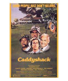 Caddyshack Film Poster