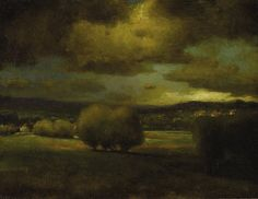 George Inness (1825-1894), Approaching Storm - 1868