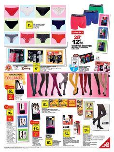 Prospectus Promoconso : Mode - Femme - Homme - Enfant - Lingerie - Sous-vêtements - Chaussettes - Collants et Bas : Slip femme, Shorty femme, Shortys ...