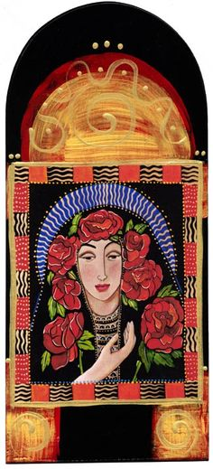 La Madonna de las Rosas, christina miller