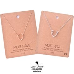 Trophy Wife Antler Necklace in Gold or Silver by Jane Divine Boutique www.janedivine.com