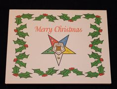 Blank OES Christmas note card by OlsenEnterprises on Etsy