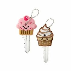Cupcake Key Covers | LUUUX
