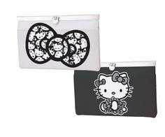 Hello Kitty® MONOCHROME Latch Wallet  $35.00
