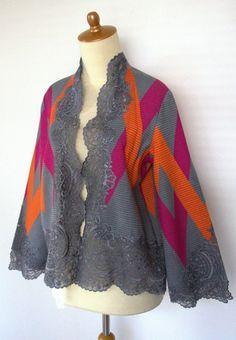 Tenun Rangrang Lombok Batik Blazer, Blouse Batik, Batik Dress, Batik Fashion, Ethnic Fashion, Asian Fashion, Womens Fashion, Batik Kebaya, Kebaya Dress