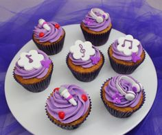 Violetta Disney Cupcakes by Violeta Glace