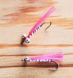 Twigg & Barry pink salmon fly for fishing in the salt. A killer pattern!