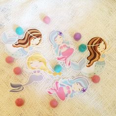 Mermaid garland via Garlands with Love. Click on the image to see more!