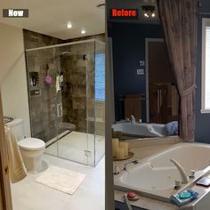 Renovated my bathroom.  Stripped down everything and installed new everything.
