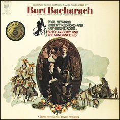 """""""Butch Cassidy And The Sundance Kid"""" (1969, A & M).  Music from the movie soundtrack."""