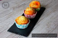 Muffin salé au chorizo, noisette & fromage de chèvre #IG Bas - http://www.quelquesgrammesdegourmandise.com/muffin-sale-chorizo-noisette-fromage-de-chevre-ig-bas/