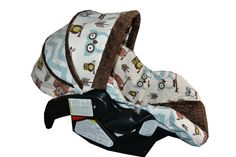 Made to order Owl Car Seat Cover for Any Infant Car by SassyStork, $79.99