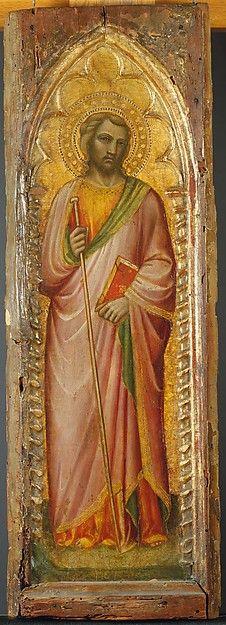 Spinello Aretino - Un Santo, forse Giacomo il Maggiore - 1384-1385 - Tempera e oro su tavola - The Metropolitan Museum of Art, New York