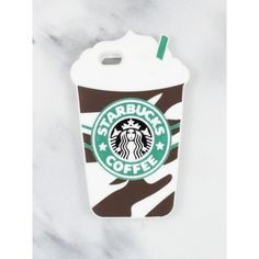 Starbucks Frap iPhone Case Gold Soul ❤ liked on Polyvore featuring accessories, tech accessories, iphone cover case, gold iphone case and iphone sleeve case