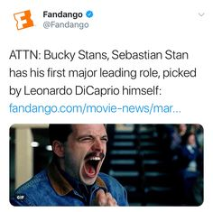 "1,027 Likes, 15 Comments - ♡S e b a s t i a n ♡ S t a n (@sebastianstanfan) on Instagram: "" PICKED BY LEONARDO DICAPRIO HIMSELF it's what Seb deserves!"""