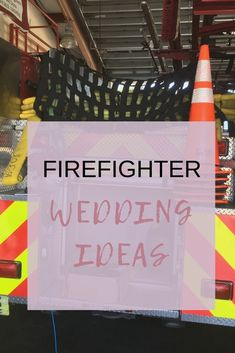 HOT firefighter wedding trends and gear for your Firefighter Wedding! Check out this post for inspiration and ideas for your upcoming big day! Firefighter Training, Firefighter Family, Wildland Firefighter, Female Firefighter, Firefighter Quotes, Volunteer Firefighter, Firefighter Boyfriend, Firefighter Pictures, Firefighter Gifts