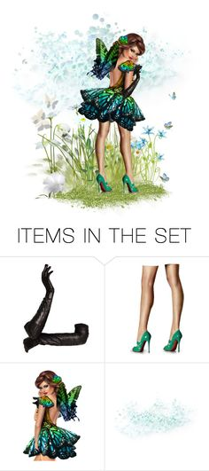 """""""Butterflies are free to fly... or wear shoes and pose"""" by riri-thatsme ❤ liked on Polyvore featuring art"""